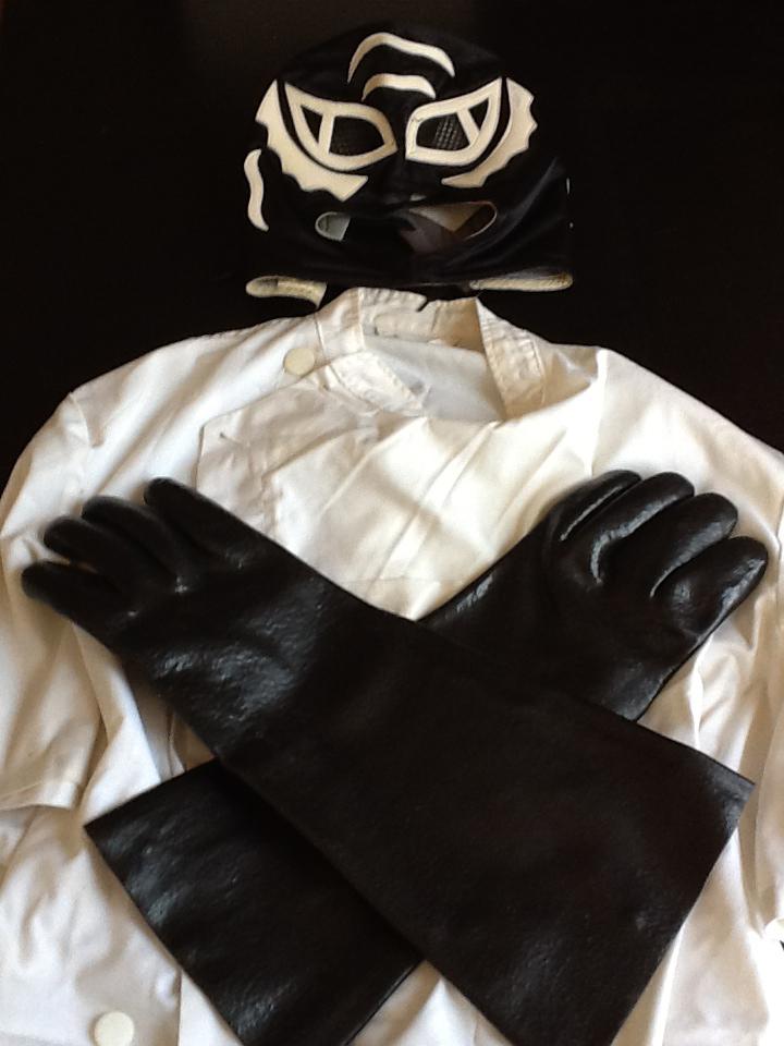 Doc Muerte's suit... or... SKIN!?!??!